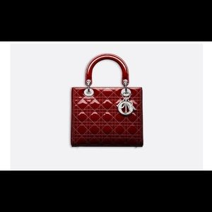 Lady Dior Calfskin Bag new